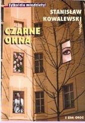 Okładka książki Czarne okna Stanisław Kowalewski