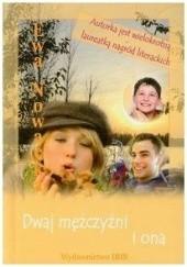 Okładka książki Dwaj mężczyźni i ona Ewa Nowacka