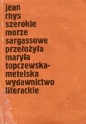 Okładka książki Szerokie Morze Sargassowe Jean Rhys