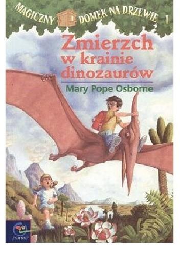 Okładka książki Zmierzch w krainie dinozaurów Mary Pope Osborne