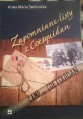 Okładka książki Zapomniane listy z Coetquidan Anna Maria Stefanicka