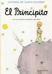 Okładka książki El Principito Antoine de Saint-Exupéry