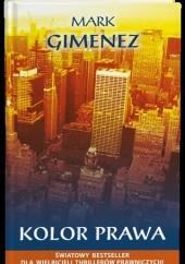Okładka książki Kolor prawa Mark Gimenez