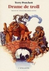 Okładka książki Trollowy Most Terry Pratchett