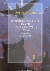 Okładka książki Historia o mewie i kocie, który uczył ją latać Luis Sepúlveda