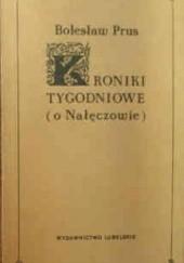 Okładka książki Kroniki tygodniowe o Nałęczowie Bolesław Prus