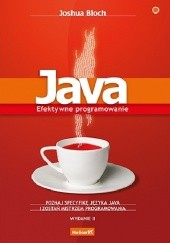 Okładka książki Java. Efektywne programowanie. Wydanie II Joshua Bloch