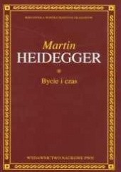 Okładka książki Bycie i czas Martin Heidegger