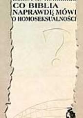 Okładka książki Co Biblia naprawdę mówi o homoseksualności Daniel A. Helminiak