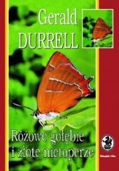 Okładka książki Różowe gołębie i złote nietoperze Gerald Durrell