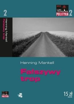 Okładka książki Fałszywy trop Henning Mankell