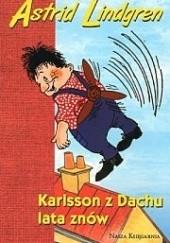 Okładka książki Karlsson z Dachu lata znów Astrid Lindgren