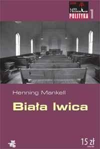 Okładka książki Biała lwica Henning Mankell