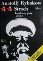 Okładka książki Strach Anatolij Rybakow