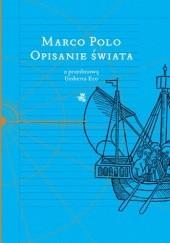 Okładka książki Opisanie świata Marco Polo,Rusticello z Pizy