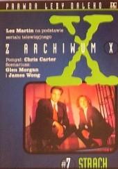 Okładka książki Strach Les Martin