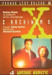 Okładka książki Z Archiwum X #8: Wysokie napięcie Easton Royce
