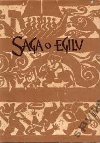 Okładka książki Saga o Egilu Snorri Sturluson