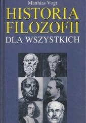 Okładka książki Historia filozofii dla wszystkich Matthias Vogt