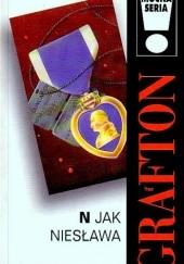 Okładka książki N jak niesława Sue Grafton