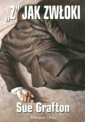 Okładka książki Z jak zwłoki Sue Grafton