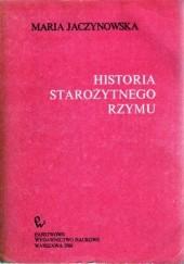 Okładka książki Historia starożytnego Rzymu Maria Jaczynowska
