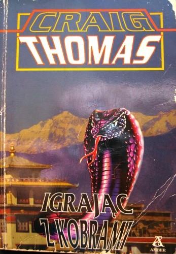 Okładka książki Igrając z kobrami