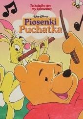 Okładka książki Piosenki Puchatka Walt Disney