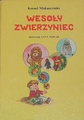 Okładka książki Wesoły zwierzyniec Kornel Makuszyński