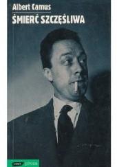 Okładka książki Śmierć szczęśliwa Albert Camus