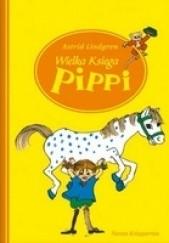 Okładka książki Wielka księga Pippi Astrid Lindgren