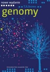 Okładka książki Genomy Terence A. Brown