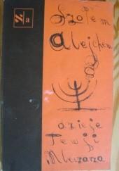 Okładka książki Dzieje Tewji Mleczarza