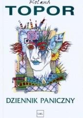 Okładka książki Dziennik Paniczny Roland Topor