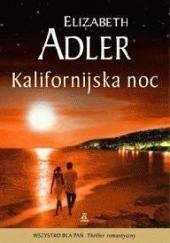 Okładka książki Kalifornijska noc Elizabeth Adler