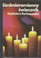 Okładka książki Siedmioramienny świecznik Kazimierz Korkozowicz