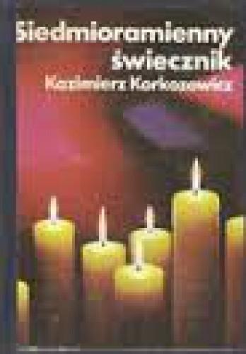 Chłodny Siedmioramienny świecznik - Kazimierz Korkozowicz (67390 PD02