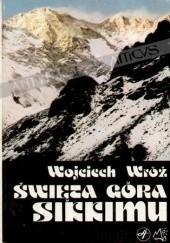 Okładka książki Święta góra Sikkimu Wojciech Wróż