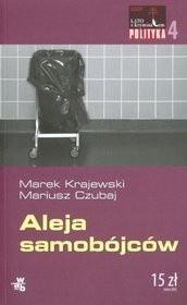 Okładka książki Aleja samobójców Mariusz Czubaj,Marek Krajewski