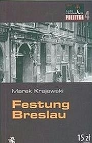 Okładka książki Festung Breslau Marek Krajewski