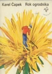 Okładka książki Rok ogrodnika Karel Čapek