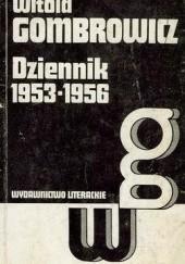 Okładka książki Dziennik 1953-1956 Witold Gombrowicz
