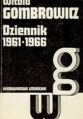 Okładka książki Dziennik 1961-1966 Witold Gombrowicz