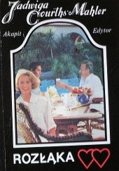 Okładka książki Rozłąka Jadwiga Courths-Mahler