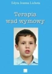Okładka książki Terapia wad wymowy Edyta Lichota
