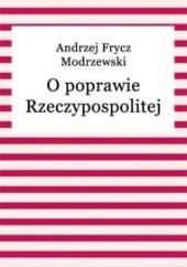 Okładka książki O poprawie Rzeczypospolitej Andrzej Frycz Modrzewski