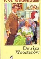 Okładka książki Dewiza Woosterów Pelham Grenville Wodehouse