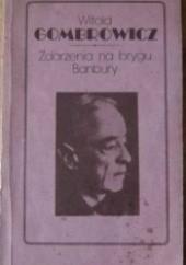 Okładka książki Zdarzenia na brygu Banbury Witold Gombrowicz