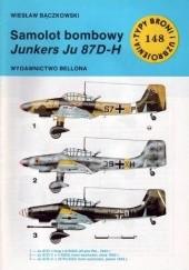 Okładka książki Samolot bombowy Junkers Ju 87 D-H Wiesław Bączkowski