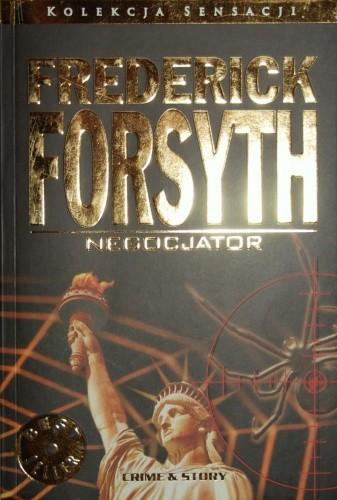 Okładka książki Negocjator Frederick Forsyth